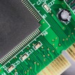 Stock Photo: Computer Component Circuit Board Memory Processor Networking Card