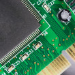 Computer Component Circuit Board Memory Processor Networking Card — Stock Photo