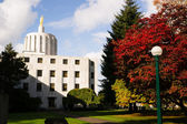 Salem Oregon Government State Capital Building Downtown — Stock Photo