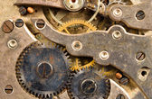 Vintage Rusted Watch Pocketwatch Time Piece Movement Gears Cogs — Stock Photo