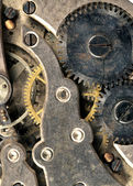 Vintage Rusted Watch Pocket Watch Time Piece Vertical Banner — Stock Photo