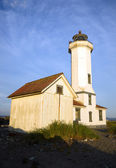Point Wilson Nautical Lighthouse Puget Sound Fort Worden — Stock Photo