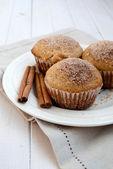 Cinnamon muffin — Stock Photo