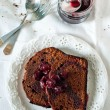 Stock Photo: Chocolate pound cake