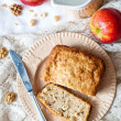 Stock Photo: Apple cake
