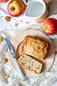 Apple cake — Stock Photo