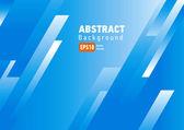 Línea fondo azul blanco vector arte abstracto — Vector de stock