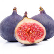 Stock Photo: Figs isolated on white background