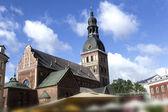 Riga dome Cathedral — Stock Photo