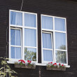 Windows of a private house — Stock Photo