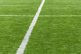 Artificial football pitch — Stock Photo