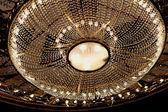 Theatrical chandelier — Stock Photo
