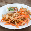 Thai papaysalad , Som Tum from Thailand — Stock Photo #38205741