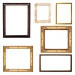 Set of frame isolated on white — Stock Photo #38242179