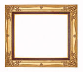 Picture frame on white backgrounds. — Stock Photo