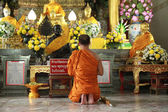 Monks and religious rituals — ストック写真
