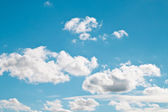 Sky with cloud — Foto Stock