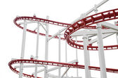 Roller Coaster Track . — Stock Photo