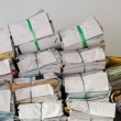 Foto de Stock  : Pile of documents