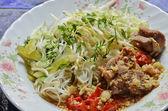 Thai style noodle — Stock Photo