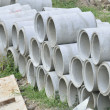 Stock Photo: Concrete pipe