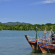 Fishing boat at Andaman Thailand — Stock Photo
