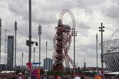 Olympic Stadium and Orbit Tower — Stock Photo