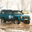 ALMATY, KAZAKHSTAN - FEBRUARY 11  Off-road vehicle JEEP 4x4 during festival — Stock Photo