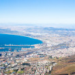 Panorama of the coast of Cape Town, South Africa — Zdjęcie stockowe