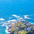 Panorama of the coast of Cape Town, South Africa — Stok fotoğraf