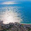 Panorama of the coast of Cape Town, South Africa. — Stok fotoğraf