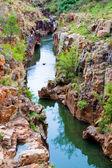 Panorama do blyde river canyon, África do Sul. — Fotografia Stock