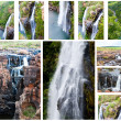Waterfall in South Africa, Blyde river canyon — Stock Photo