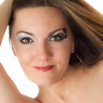 Beautiful young women with stylish creative makeup and body art on white background Makeup, fashion, beauty — Stock Photo