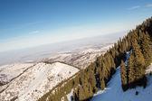 Ak bulak, almatı, kazakistan, asya dağlarında kış — Stok fotoğraf