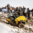 Stock Photo: Almaty, Kazakhst- February 21, 2013. Off-road racing on jeeps, Car competition, ATV.
