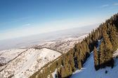Winter mountains in Ak Bulak, Almaty, Kazakhstan, Asia — Stock Photo
