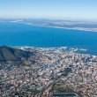 Scenic View in Cape Town, Table Mountain, South Africa  from an aerial perspective - Photo