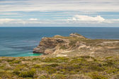 Cape of Good Hope. Cape Peninsula Atlantic ocean. Cape Town. South Africa view from Cape Point — Stock Photo