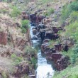 Blyde River Canyon,South Africa, Mpumalanga, Summer Landscape, red rocks and water — Zdjęcie stockowe #25624845