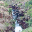 Blyde River Canyon,South Africa, Mpumalanga, Summer Landscape, red rocks and water — стоковое фото #25624845