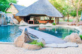 Lodge and swimming pool in Kruger National Park - South Africa — Stock Photo