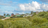 Camps bay beach, cidade do cabo, áfrica do sul — Foto Stock