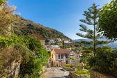 Small cretan village in Crete island, Greece. See other pictures from Crete — Stock Photo