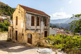 Old home in small cretan village in Crete island, Greece. See other pictures from Crete — Stock Photo