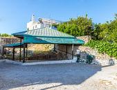 Small cretan village in Crete island, Greece — Stock Photo