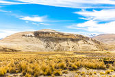 The Andes, Road Cusco- Puno, Peru,South America — Stock Photo