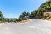 Small cretan village in Crete island, Greece See other pictures from Crete — Stock Photo