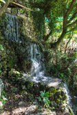 Waterfall in Small cretan village in Crete island — Stock Photo