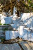 Small cretan village in Crete island, Greece. Building — Stock Photo